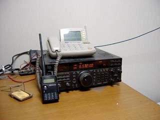 私の無線機 私の無線機です。 アマチュア無線をやっているので、無線機を受信機として... 航空無